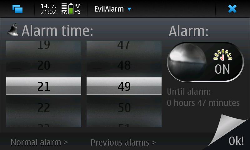 EvilAlarm: Mobile alarm clock sure to wake you up | Olli Savolainen