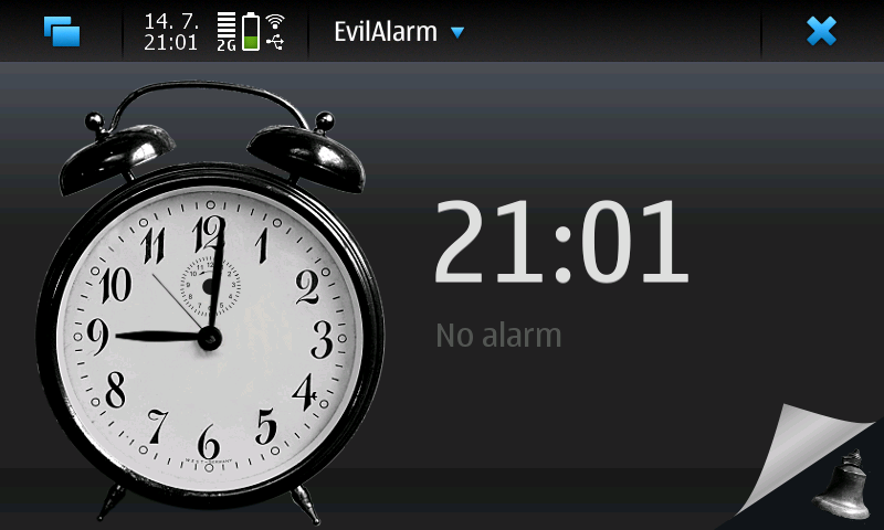 User experience redesign of EvilAlarm - a mobile alarm clock